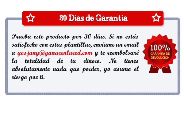 Certificado de garantía Banner Manía