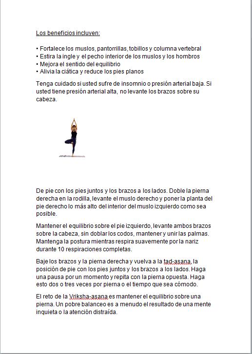 Yoga en casa ebook PLR 1
