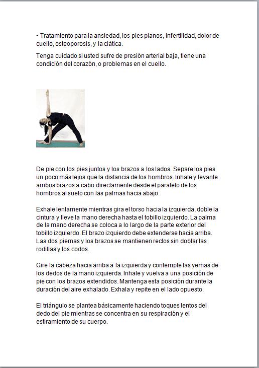 Yoga en casa ebook PLR 2