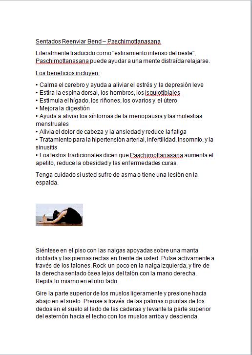 Yoga en casa ebook PLR 3