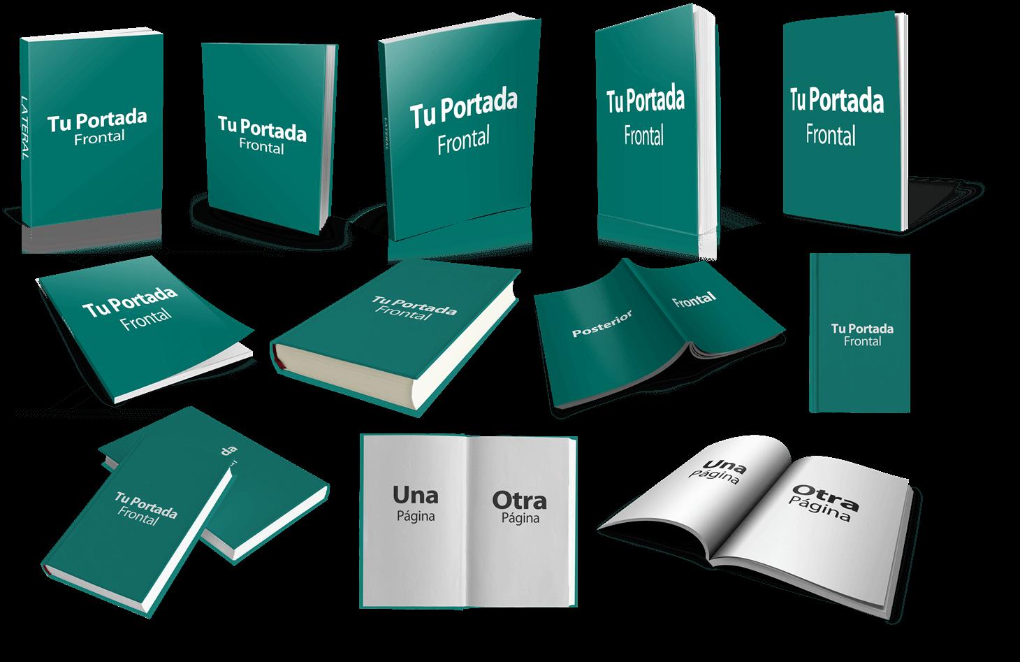 Mockups ebooks español